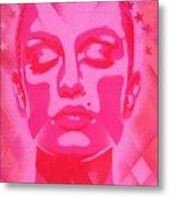 Skin Deep Series, Pinks Metal Print