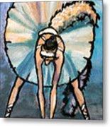 Skinny Ballerina. Metal Print