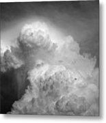Skirting The Storm Metal Print