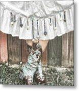 Skirts And Dangles Metal Print