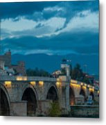 Skopje Stone Bridge Metal Print