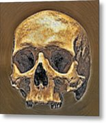 Skull. Metal Print