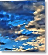 Sky And Clouds Metal Print
