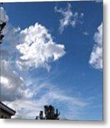 Sky Before The Storm Metal Print