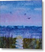 Sky Color Metal Print