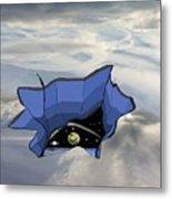 Sky Hole Space Metal Print