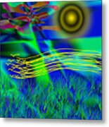 Sky Of Mind Metal Print