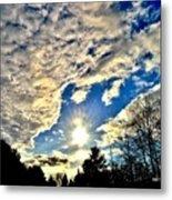 Sky Opens Metal Print