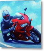 Sky Pilot - Honda Cbr600 Metal Print