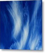 Sky Sculpting Metal Print