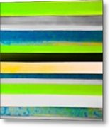 Sky Stripes 11 Metal Print
