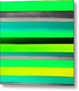 Sky Stripes 9 Metal Print