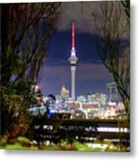 Sky Tower Metal Print
