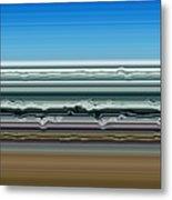 Sky Water Earth Metal Print