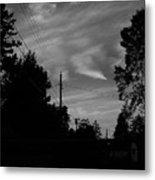 Sky With Clouds Metal Print