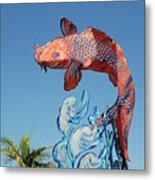 Skyfish Metal Print