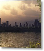 Skyline Lake Metal Print