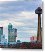 Skyline Niagara Metal Print