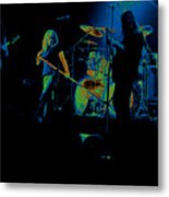 Skynyrd Sf 1975 #10 Crop 2 Enhanced In Cosmicolors Metal Print
