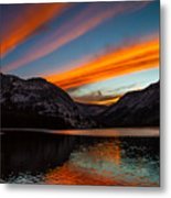 Skys Of Color Metal Print