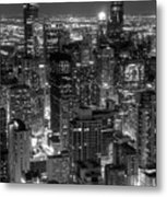 Skyscrapers Of Chicago Metal Print
