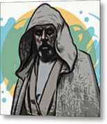 Skywalker Returns Metal Print