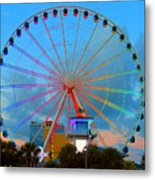 Skywheel Metal Print