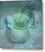 Skyworks 1 Rose Metal Print