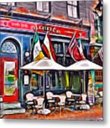 Slainte Irish Pub And Restaurant Metal Print
