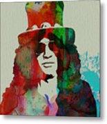 Slash Guns N' Roses Metal Print