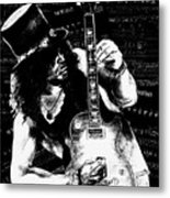 Slash Metal Print by Kathleen Kelly Thompson