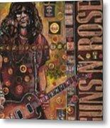 Slash Metal Print