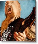 Slayer King Metal Print
