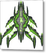 Slee-warship Metal Print