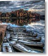 Sleep Canoes Warrenton Va 2012 Metal Print