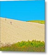 Sleeping Bear Dune Climb In Sleeping Bear Dunes National Lakeshore-michigan Metal Print