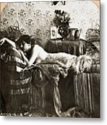 Sleeping Beauty, C1900 Metal Print