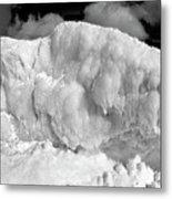 Sleeping Ice Giant Metal Print
