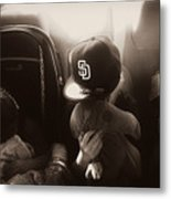 Sleeping Kids Metal Print