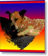 Sleeping Soundly Metal Print