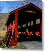 Sleepy Hollow Bridge Metal Print