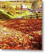 Sleepy Hollow - Pomfret Vermont-1 Metal Print