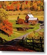 Sleepy Hollow - Pomfret Vermont-2 Metal Print