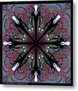 Slendermandala 2 Metal Print