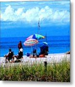 Slice Of Venice Beach Metal Print
