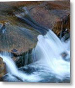 Slide Rock Metal Print by Kelly Wade