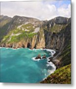 Slieve League Donegal Ireland Metal Print