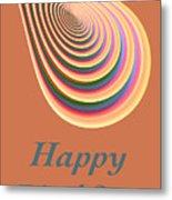Slinky - Happy Birthday Card 2 Metal Print