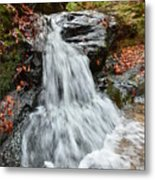 Slippery Rock Falls Fdr State Park Ga Metal Print