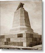Sloat Monument On The Presidio Of Monterey Circa 1910 Metal Print
